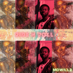 Mowille - Ride N Roll - single cover artwork