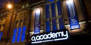 O2 Academy Bournemouth, 570 Christchurch Road, Boscombe, BH1 4BH