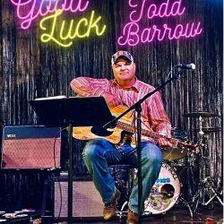 Todd Barrow - Good Luck - single cover artwork
